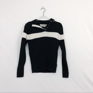 Tommy Hilfiger Black & White sweater top